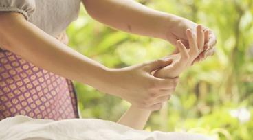 Taller a la gorra Online - Reflexología en manos para la ansiedad