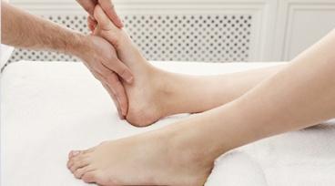 Taller a la gorra Online: Reflexología en pies para dolor de cabeza y tensión de cuello